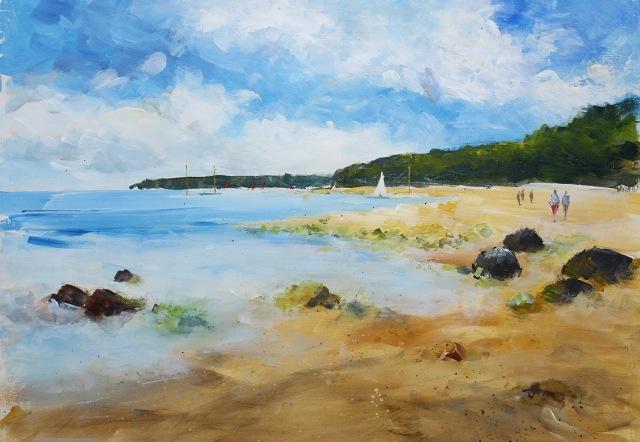 painting for arttutor simple beach video for arttutor